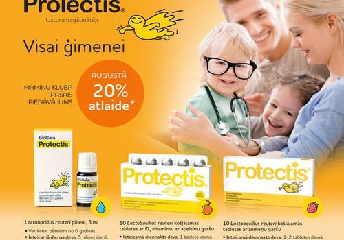Особое предложение для Маминого клуба - скидка 20% для продуктов Protectis®!