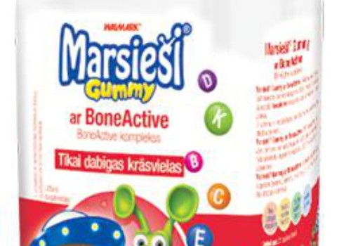 Витамины Marsieši® Gummy с BoneActive получают...