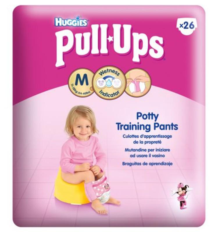 Акция на Huggies Pull Ups в Prisma
