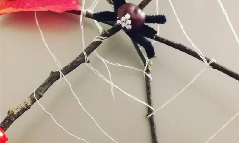 Делаем вместе: осенние паучки