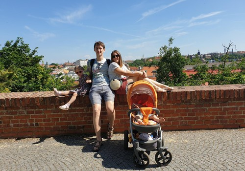 Даша: Прага с детьми