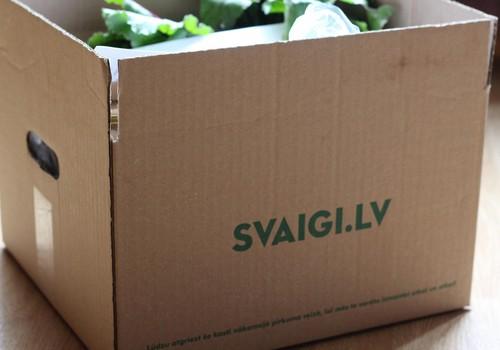 Продукты на дом: Svaigi.lv