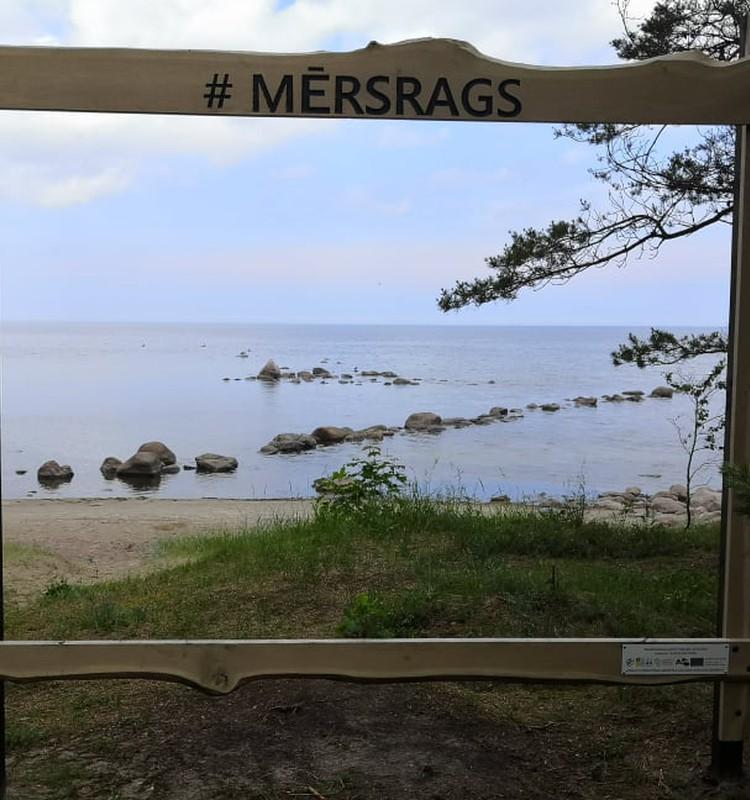Лето, ах лето: по побережью Балтийского моря. Мерсрагс