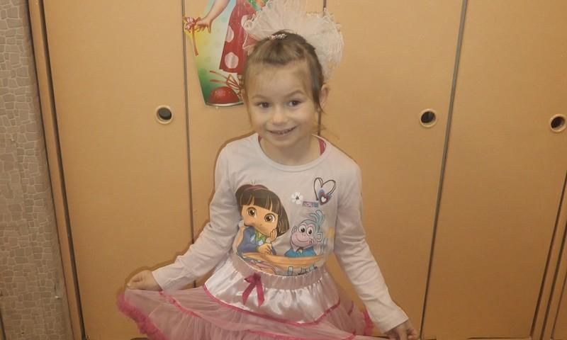 22 октября Анжелике исполнилось 5 лет