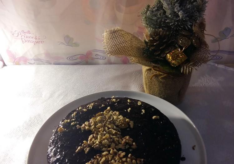 Рождественский пирог без яиц и молока в МУЛЬТИВАРКЕ