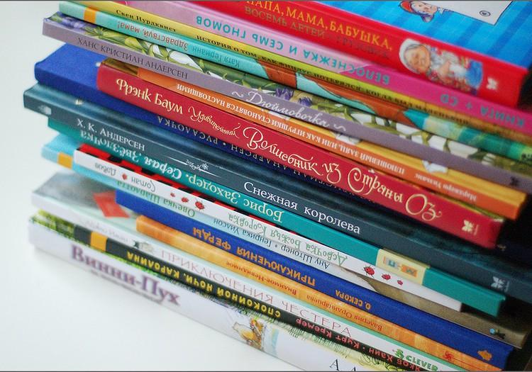 Топ-10 любимых книг шестилетнего мальчика