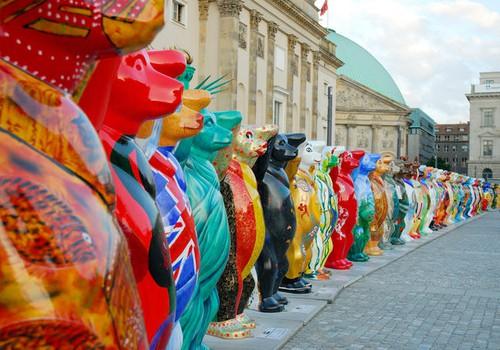 Берлинские медведи едут в гости в Ригу!