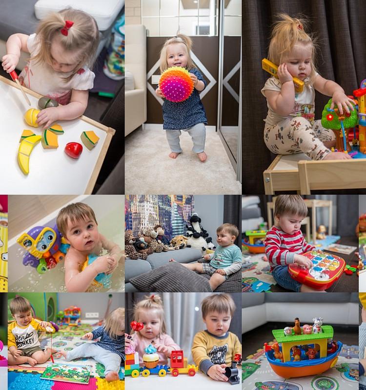 Большой обзор всех наших игрушек +1 часть 2