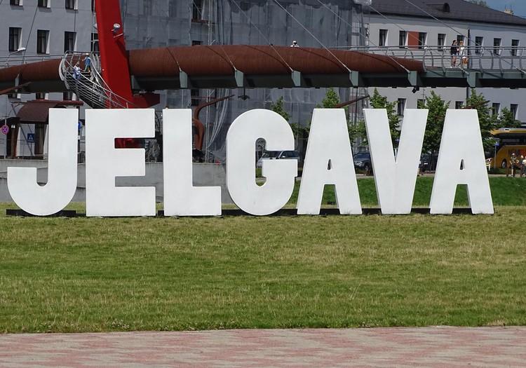 Елгава - прогулка по городу, песчаные скульпптуры и вояж по Лиелупе