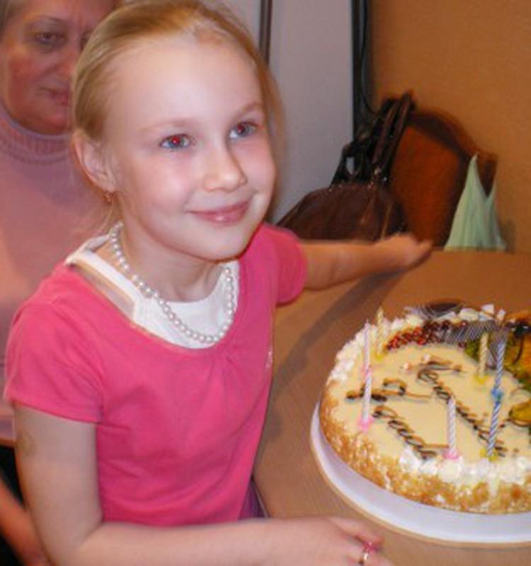 Вероничка, с днем рождения тебя, любимая!