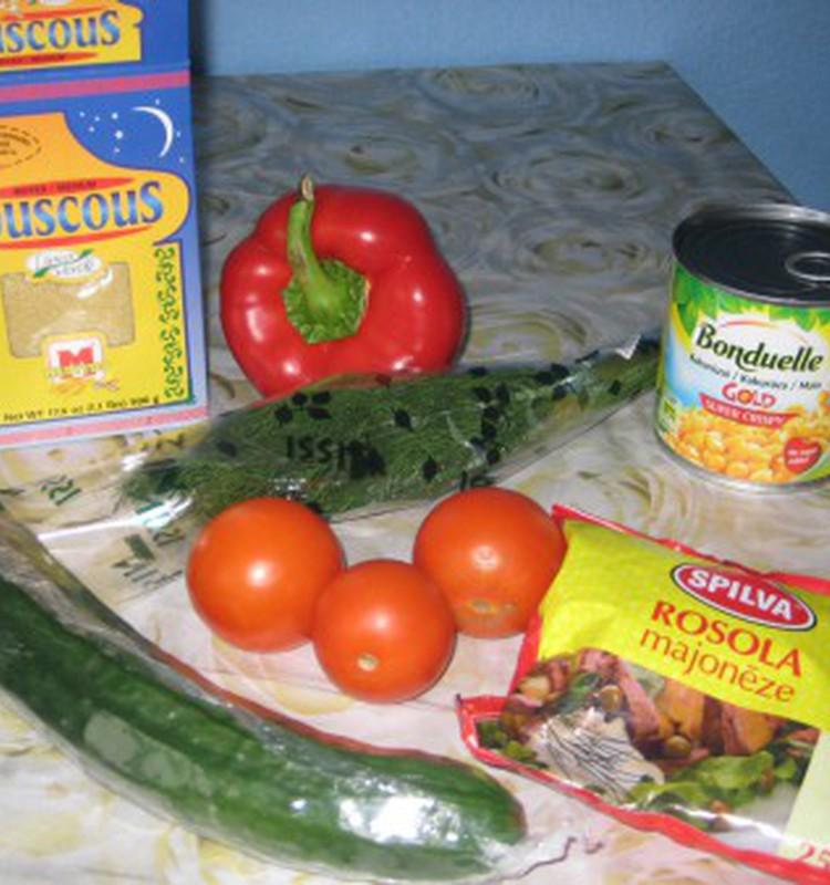 Салат из кус-кус