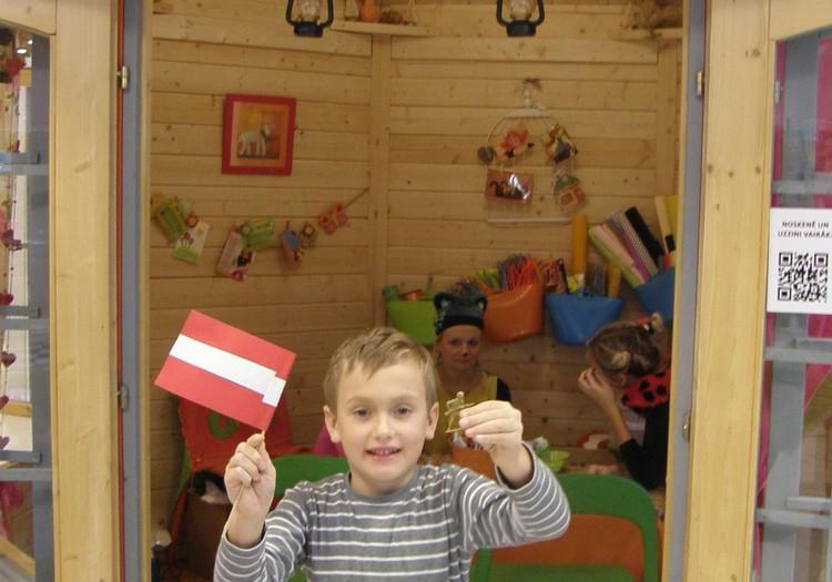 Как Илюша готовил подарок Латвии