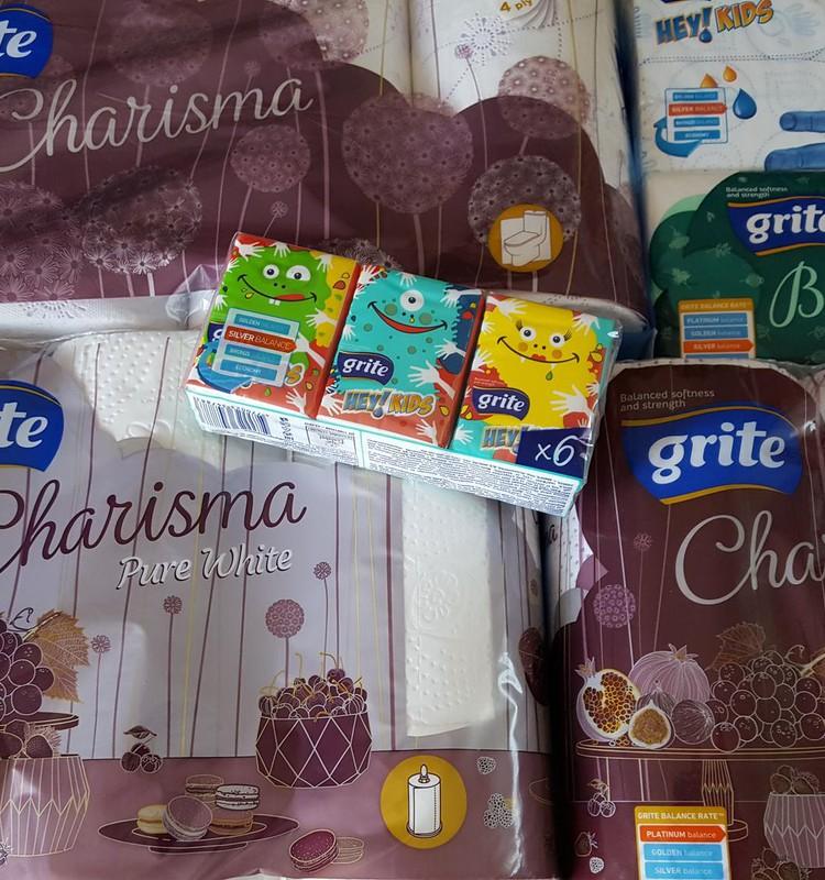 Бумажные салфетки Grite - всегда должны быть под рукой!