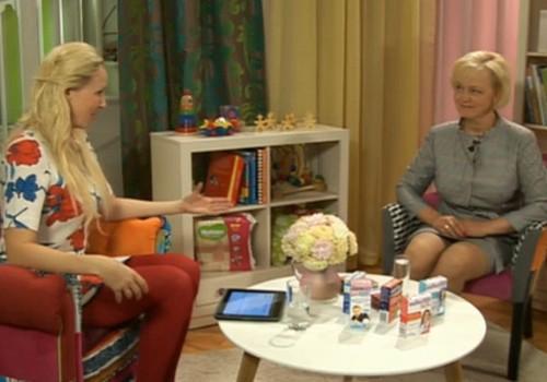 Всё о витаминах для детей в осенний период в ONLINE-TV Māmiņu klubs!
