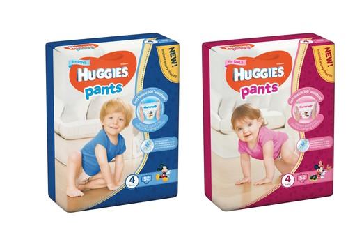 Подгузники-трусики Huggies® Pants нового дизайна!