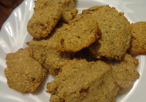 Кокосовое печенье за 15 минут. Без сахара!