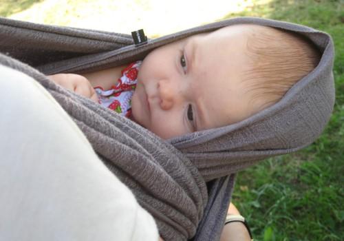 Не представляю материнства без слинга