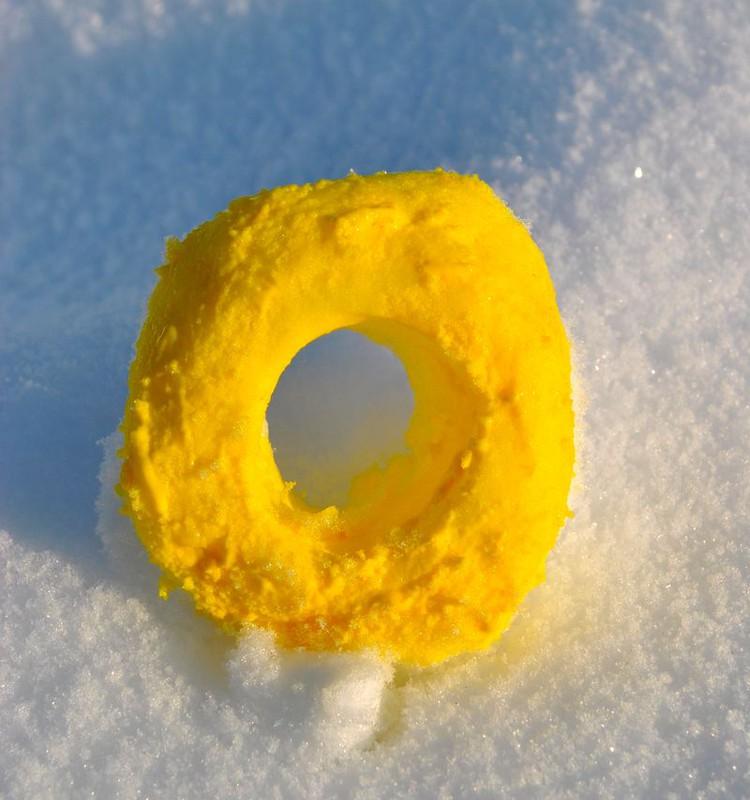 по снежному солнечная буква