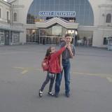 Рано утром были на Витебском вокзале. Поразила чистота и безопасность (полицейские были и на самом вокзале, и на пероне, и в вагоне)