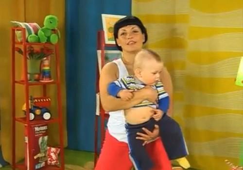 Видео: физкультура вместе с малышом