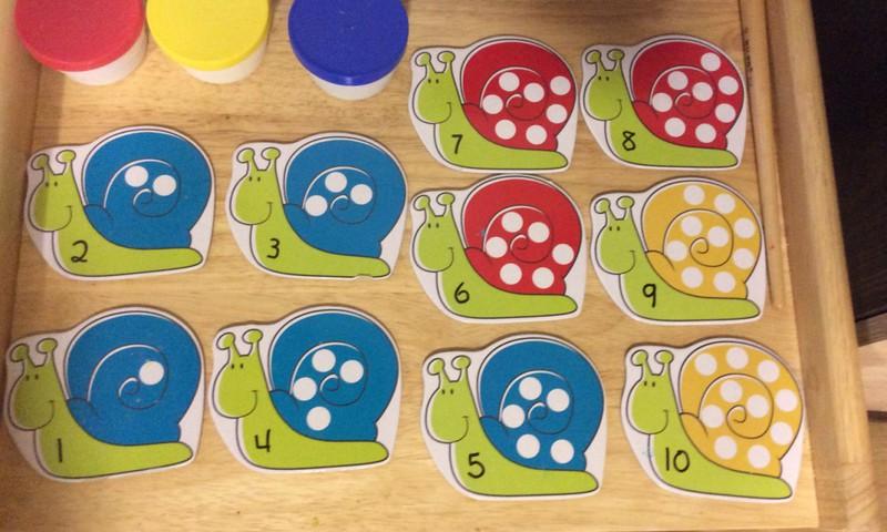 ИГРОТЕКА: Улитки и точки (Snails and spots)