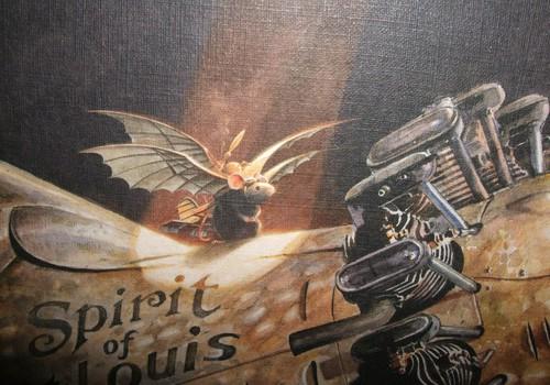 НАХОДКА: «Линдберг. Невероятные приключения летающего мышонка» Торбен Кульманн