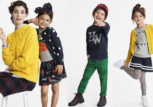 """К коллекции Lindex """"Holly & Whyte"""" добавлена детская линия одежды"""