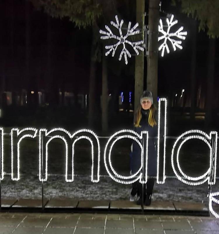 Юрмала: парк световых скульптур