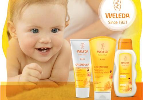 Раздаём на тестирование средства для малышей Weleda!