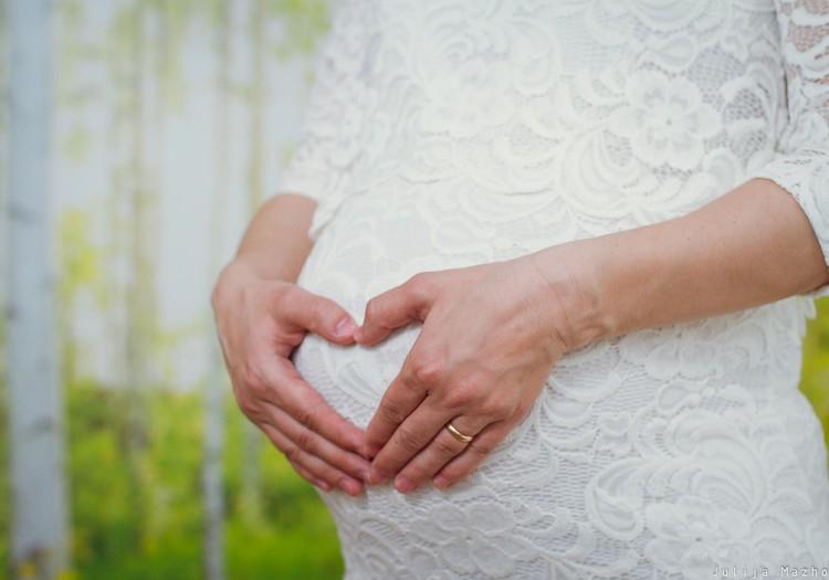 Наша беременная фотосессия :)