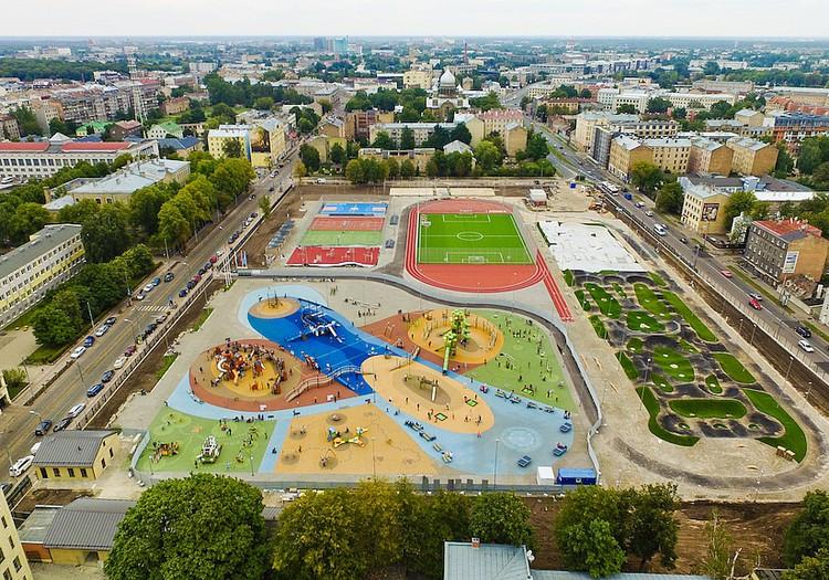 Спортивный квартал в центре Риги – каждому найдется чем заняться