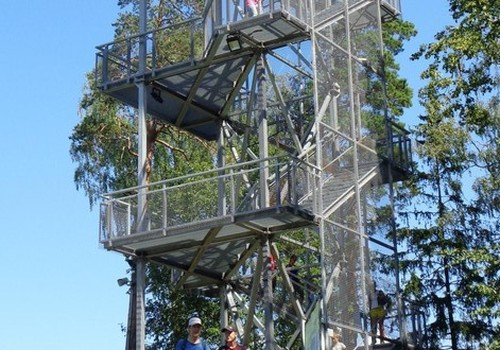 Балдоне: обсерватория и вышка Риекстукалнс