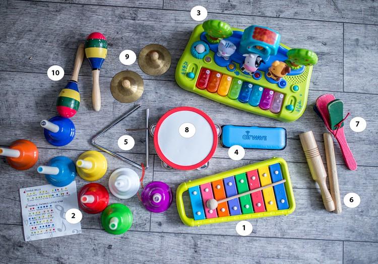 Мои маленькие музыканты (инструменты+занятия)