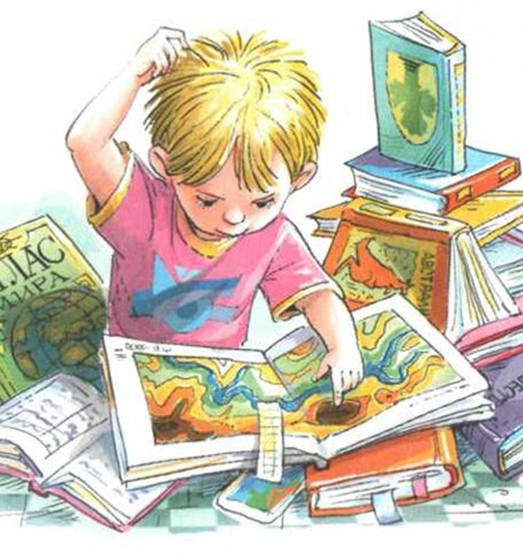 10 самых любимых книг моего сына