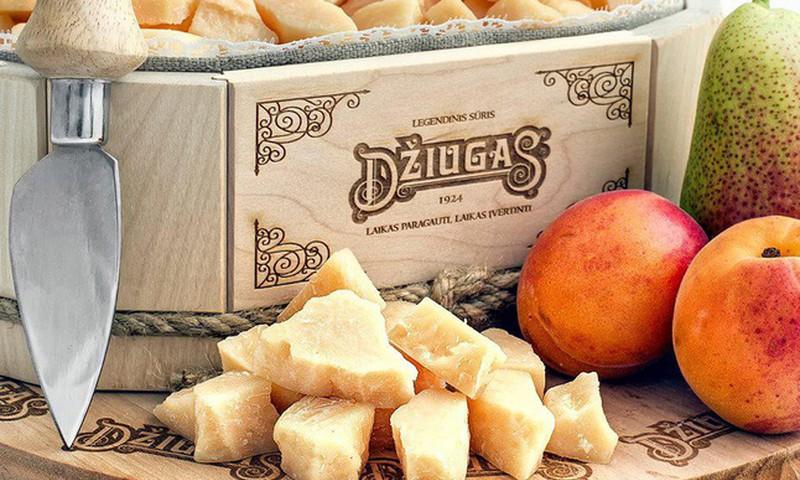 """Рецепты с вкусным сыром """"Džiugas"""": первый поощрительный приз отправляется к..."""