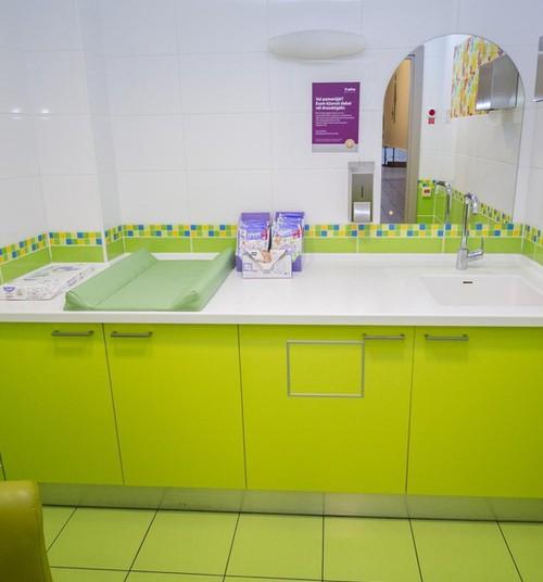 Торговый центр ALFA: теперь предметы гигиены в комнатах мамы и малыша доступны бесплатно!