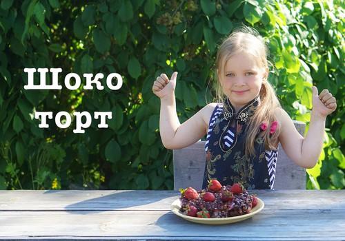 ГОТОВЯТ ДЕТИ: Шоко торт без выпечки