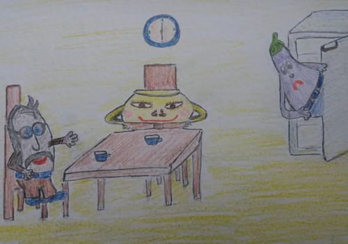 Как Хлеб Хлебыч с Мёд Мёдычем подружились