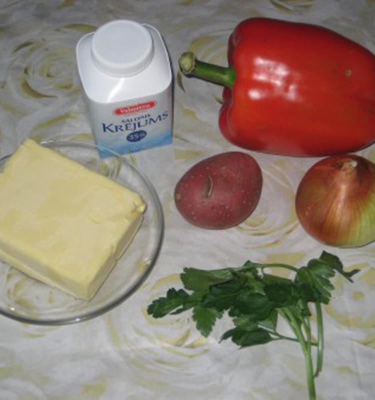 Крем-суп из болгарского перца