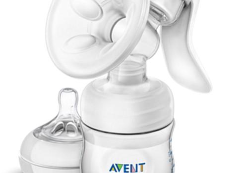 Ручной молокоотсос Avent Comfort для создания банка молока