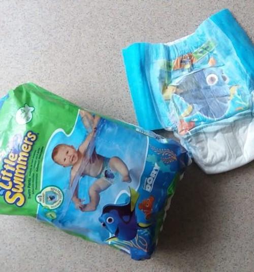 Подгузники Huggies Little Swimmers нам в помощь. Или как мы первый раз ходили в бассейн