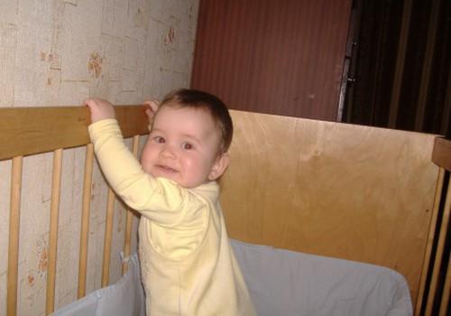 Когда ваш малыш сделал свои первые шажки?