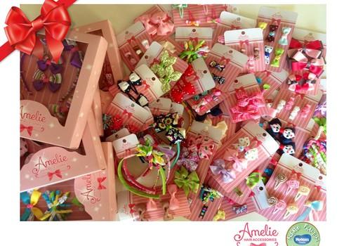 Праздничный каталог подарков Huggies®: украшения для волос amelie.lt