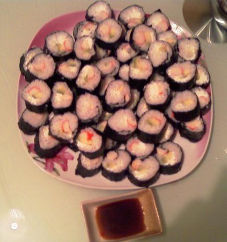 А давайте про суши!