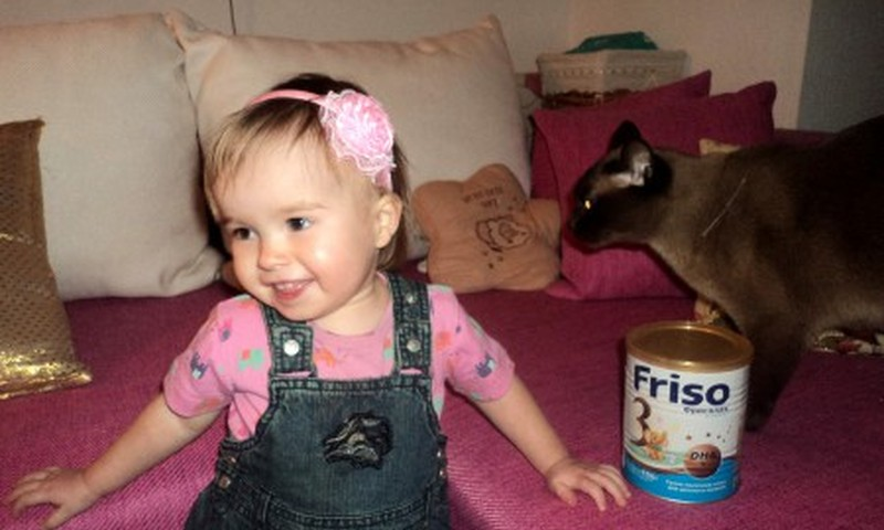 Отчет о том, как Патриция попробовала молочную смесь Friso Gold 3