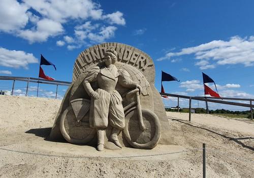Парк песчаных скульптур в Елгаве: от идеи до легенды