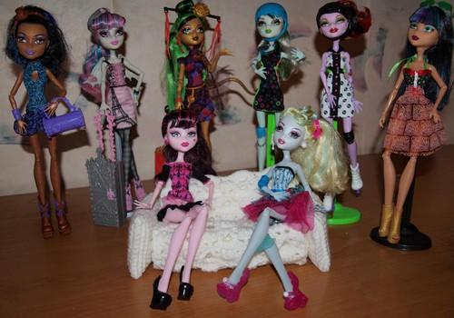 Знакомьтесь! Модные куклы Monster High от Mattel