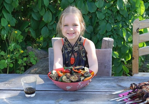 ГОТОВЯТ ДЕТИ: Овощи - гриль