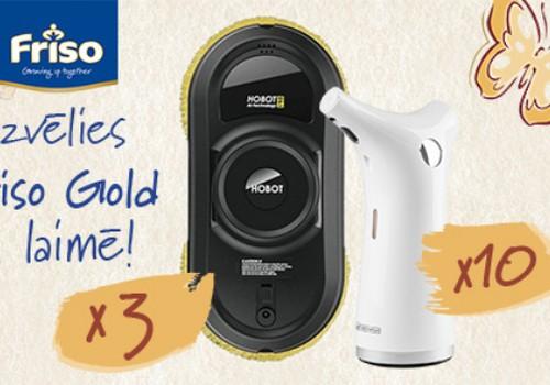 Выбирай Friso Gold и выиграй робота-мойщика окон!