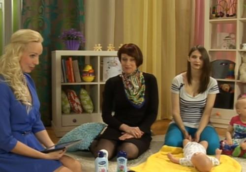 ONLINE-TV: О проблемах кожи малышей рассказывает педиатр Ирена Путниня